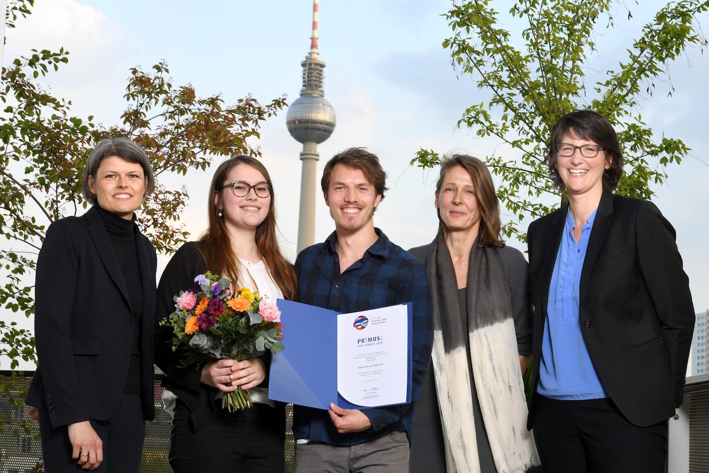 Primus-Preis des Jahres 2016 für brandenburgische Erste-Hilfe-Initiative