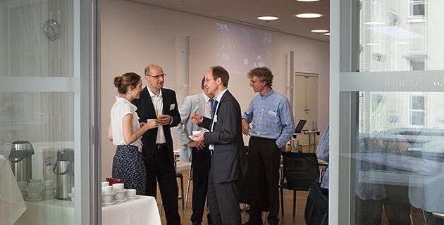 Bild der Expertendiskussion an der Hertie School of Governance, Berlin 4