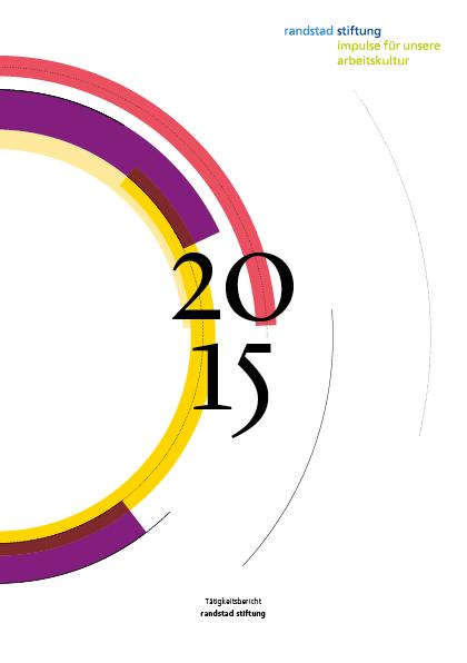 Tätigkeitsbericht 2015 publiziert
