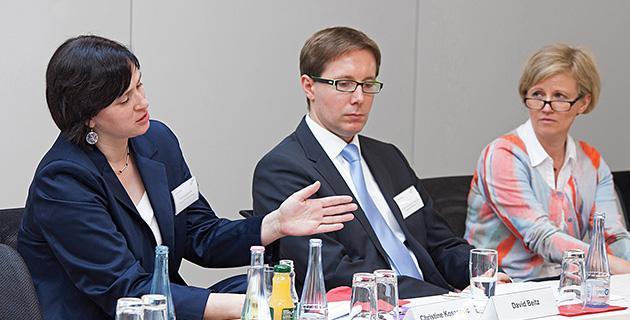 Bild der Expertendiskussion an der Hertie School of Governance, Berlin 1