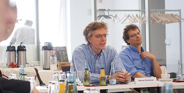 Bild der Expertendiskussion an der Hertie School of Governance, Berlin 14